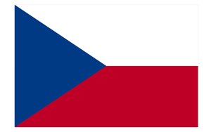 Czech Navy Flag