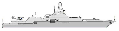 Type Prague Guided Missile Cruiser