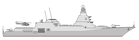 Type Vltava Guided Missile Destroyer